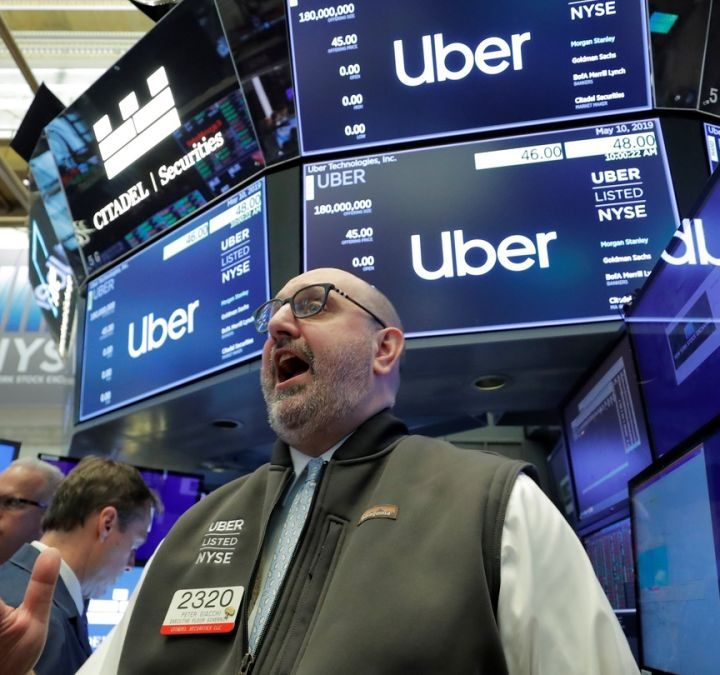 NYSE UBER Confirmation and Schedule the Advancement